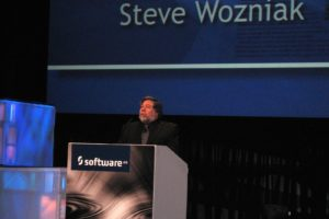Steve Wozniak at Software AG conference