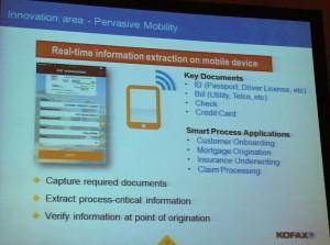 KofaxAgility Mobile Extraction Innovation