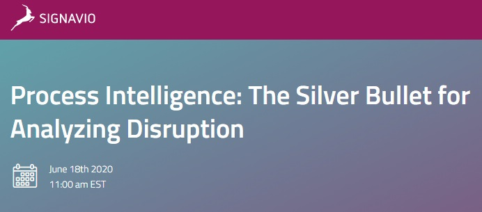 It's webinar week! Check out my process intelligence webinar with @Signavio on Thursday