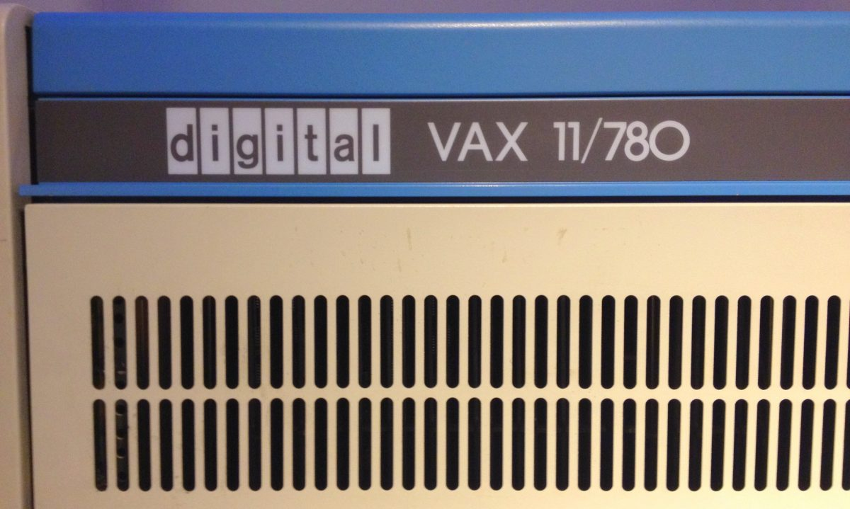 VAX 11/780 at the Computer History Museum
