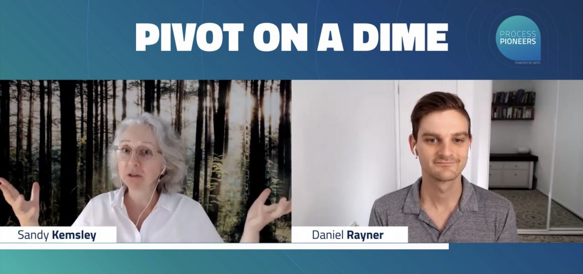 Pivot on a dime with BPM: see me on Process Pioneers